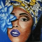 Nová výstava maleb s názvem Afrika